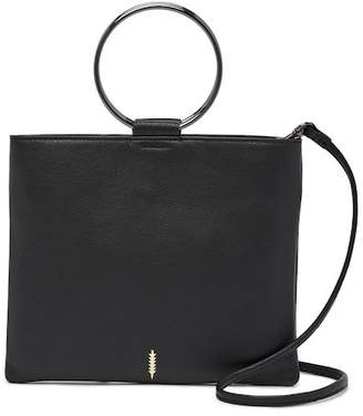 Thacker New York Le Pouch Leather Crossbody Clutch