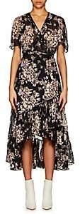 By Ti Mo byTiMo Women's Palace-Floral Swiss Dot Wrap Dress