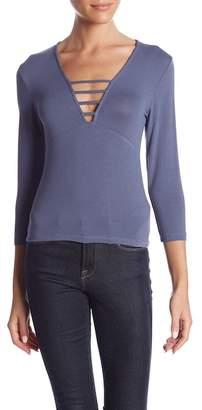 HIATUS Lattice 3/4 Sleeve Shirt