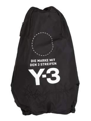 Y-3 Y 3 Logo Print Backpack