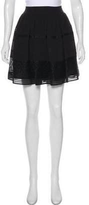 ALICE by Temperley Lace Accent Mini Skirt