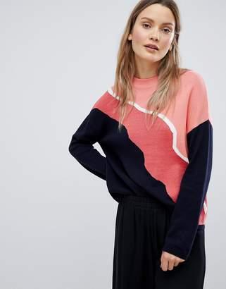 InWear Paola Colourblock Knit Jumper