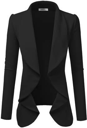 Black Drape Blazer - Women