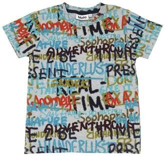 Molo Printed Cotton Jersey T-Shirt