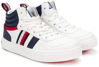 Tommy Hilfiger Junior lace-up high-top sneakers