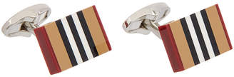 Burberry Heritage Stripe Cufflinks