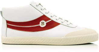 Bally Shetan High-Top Leather Sneakers