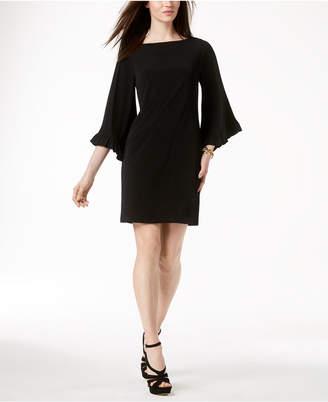 Michael Kors MICHAEL Flare-Sleeve Sheath Dress