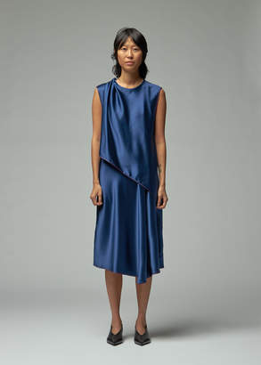 Sies Marjan Clare Short Sleeve Draped Dress