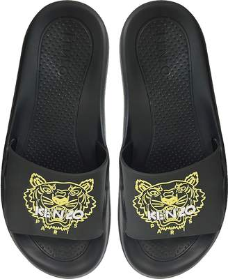 Kenzo Black Tiger Women's Flat Sandals