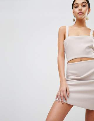 Bec & Bridge Bodycon Mini Dress with Cut-Out