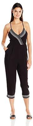 La Blanca Women's Sevilla Capri Jumpsuit Cover up $107 thestylecure.com