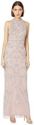 02bf3586e0df1 $119.60 $299 Adrianna PapellBeaded Halter Evening Gown