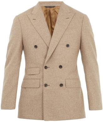 THOM SWEENEY Double-breasted wool blazer