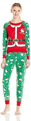 Hello Kitty Women's Ugly Holiday Pajama Set $19.50 thestylecure.com