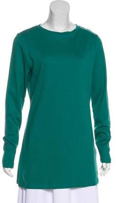 Isaac Mizrahi Long Sleeve Long Top