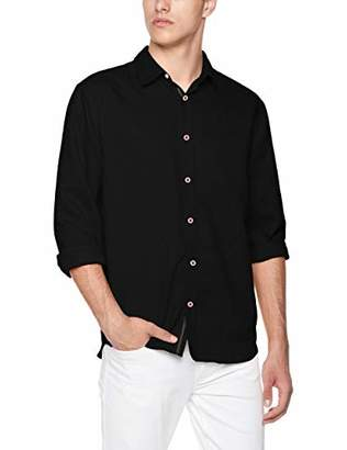Isle Bay Linens Men's Slim-Fit Long Sleeve Casual Shirt