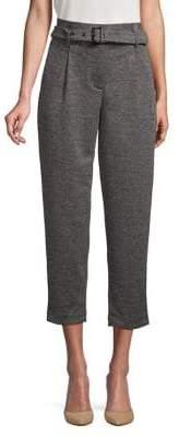 Jones New York Textured Cropped Pants