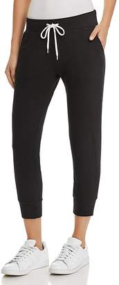 Monrow Sporty Cropped Sweatpants