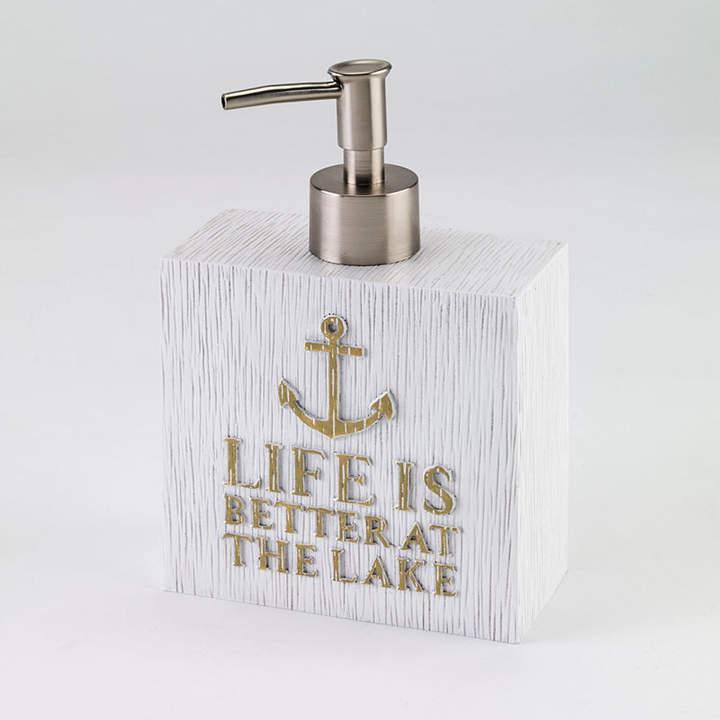 Lake Words Soap Dispenser