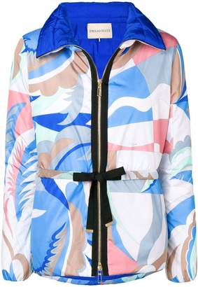 Emilio Pucci abstract print jacket