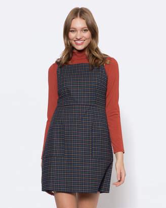 Caterina Check Dress
