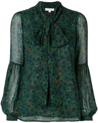 MICHAEL Michael Kors scarf neck blouse