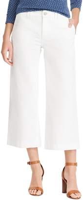Chaps Women's Wide-Leg Crop Jeans