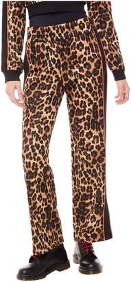 Juicy Couture Jxjc Leopard Tricot Wide Leg Pant