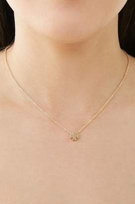 Forever 21 Four Leaf Clover Necklace