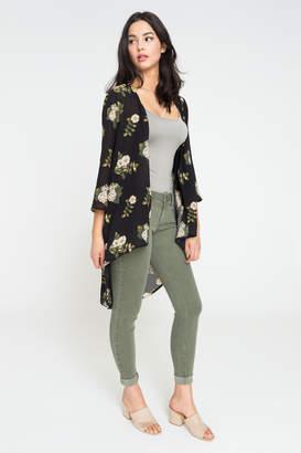Ardene Sheer Floral Kimono
