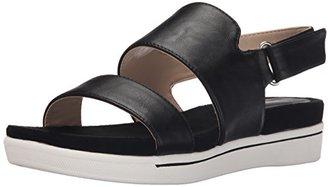 Adrienne Vittadini Footwear Women's Chuckie Flat Sandal $79 thestylecure.com