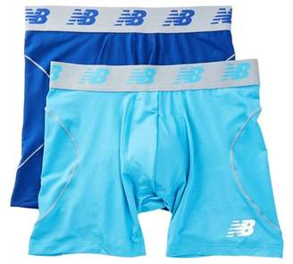 """New Balance Performance Everyday 6\"""" Boxer Briefs - Pack of 2"""