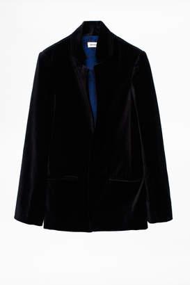 Zadig & Voltaire Volly Velours Jacket