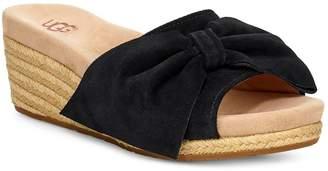 c684deb97b UGG Black Wedge Heel Women's Sandals - ShopStyle