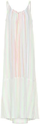 Lemlem Selata striped cotton-blend dress