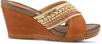 Patrizia Bisera Womens Wedge Sandals