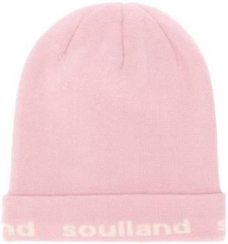 Soulland logo beanie hat