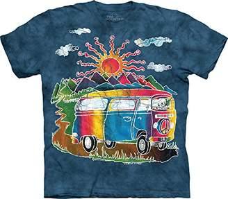 The Mountain Men's Batik Tour Bus T-Shirt