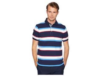 Chaps Short Sleeve Stripe Polo Men's Clothing