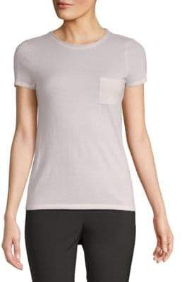 Saks Fifth Avenue Short-Sleeve Pocket Tee