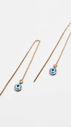 Isabel Marant Charm Linear Drop Earrings