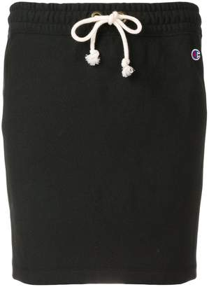 Champion embroidered logo track skirt