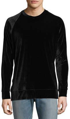 Ovadia & Sons Dex Velvet Sweatshirt