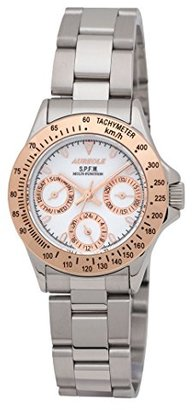 Aureole [オレオール 10気圧防水マルチファンクション レディース腕時計 SW-581L-5