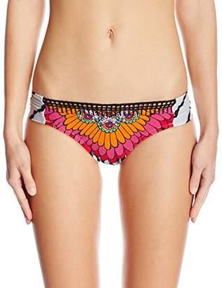 Trina Turk Women's Ibiza Shirred Side Hipster Bikini Bottom
