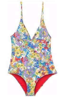 Stella McCartney Floral-Print Swimsuit