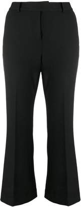 MICHAEL Michael Kors cropped bootcut trousers