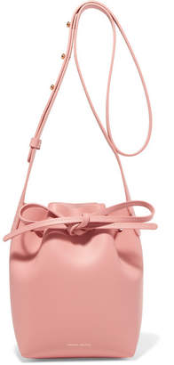 Mansur Gavriel Mini Mini Leather Bucket Bag - Blush