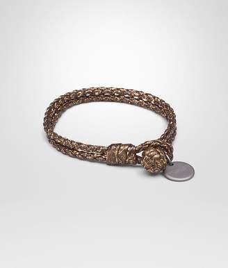 Bottega Veneta Oro Scuro Nappa Bracelet